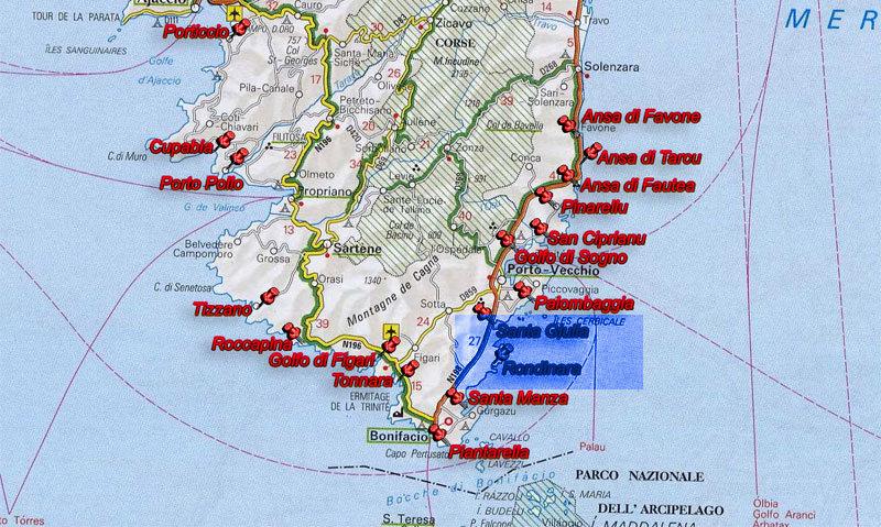 A trip to Corse - La Rondinaria e Baia Santa Giulia