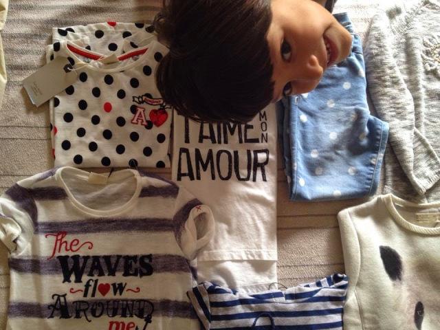 I love shopping… da Zara per la miapiccolina!