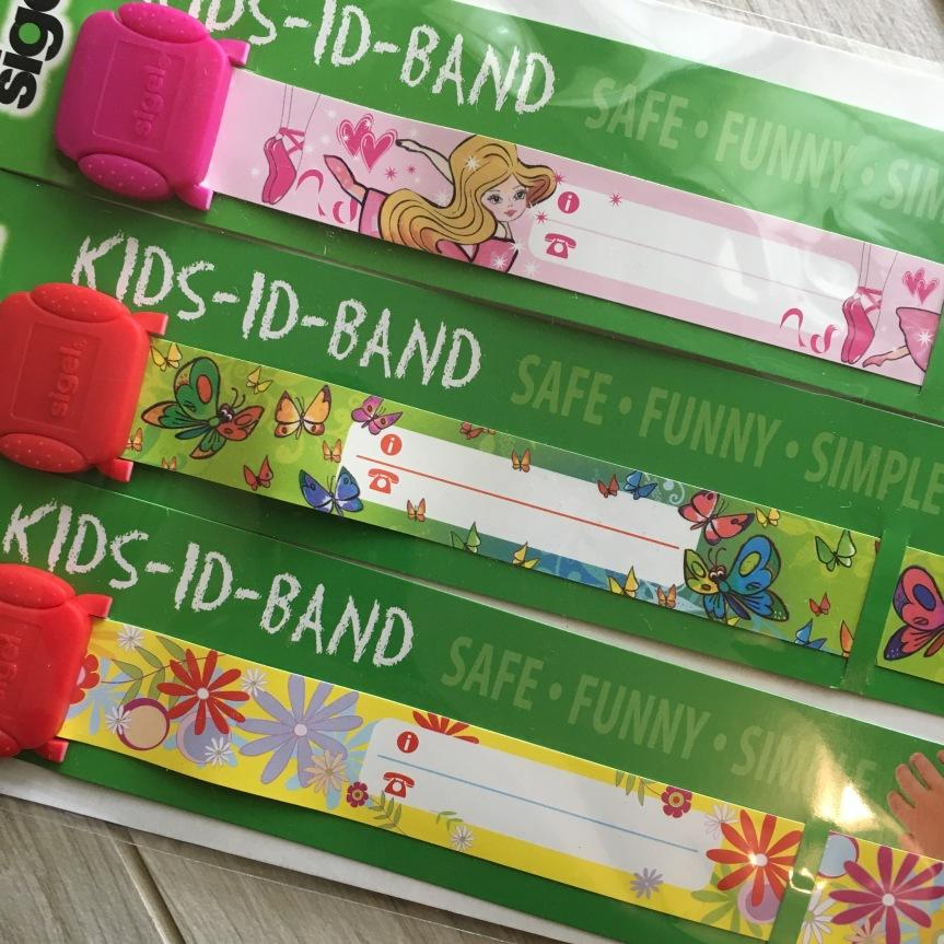 Kids Id Band, braccialetto disicurezza