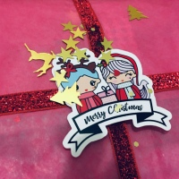 Camilla BIG XMAS BAG by Glitter Lab